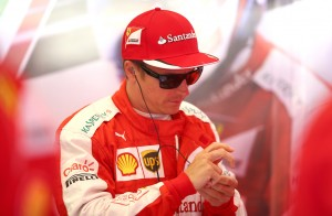 SPA, BELGIUM - AUGUST 21: Kimi Raikkonen