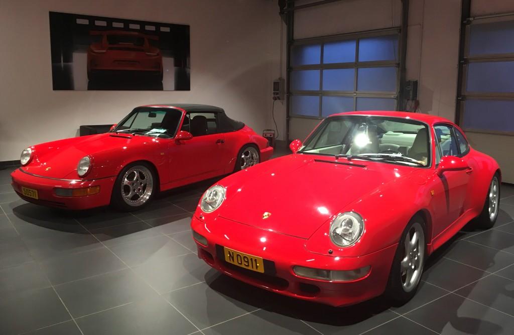 964 Cabrio & 993 4S