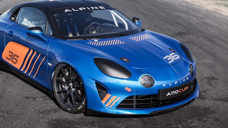 2017 - Alpine A110 Cup