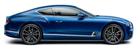 Bentley Continental GT _Profil
